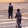 Orthodox Jews on a Vienna street
