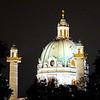 Karlskirche (Vienna)at night