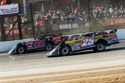 Chris Madden (44) and Shane Clanton (25)