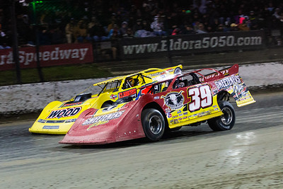 Tim McCreadie (39) and Devin Gilpin (1G)