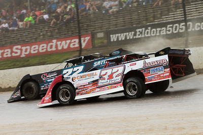 Bobby Pierce (32) and Gregg Satterlee (22)