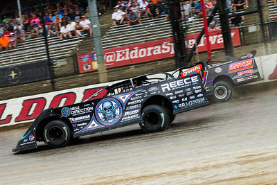 Scott Bloomquist (0) and Chris Madden (44)