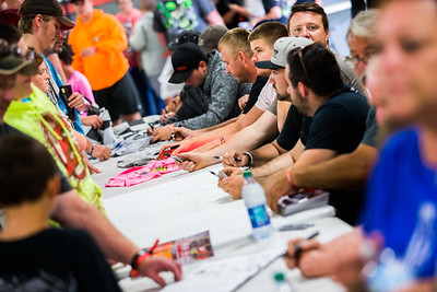 Eldora Speedway autograph session