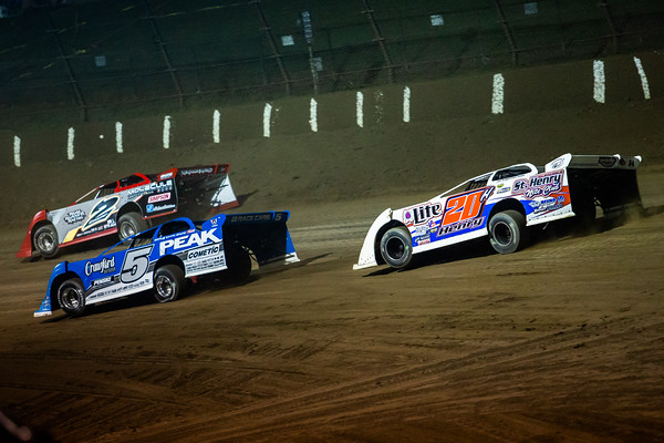 Joey Coulter (2C), Don O'Neal (5) and Jon Henry (20H)