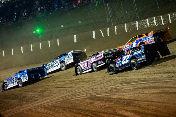 Rob Toland (39), Ricky Thornton, Jr. (20RT), Michael Page (18X), Vic Hill (1) and Gregg Satterlee (22)