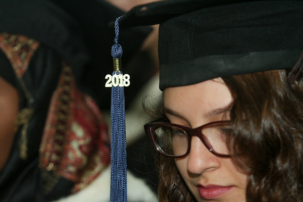 A 2018 graduate at BMC