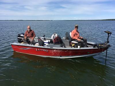 FISHING TRIP TO LEECH LAKE, JUNE 2018