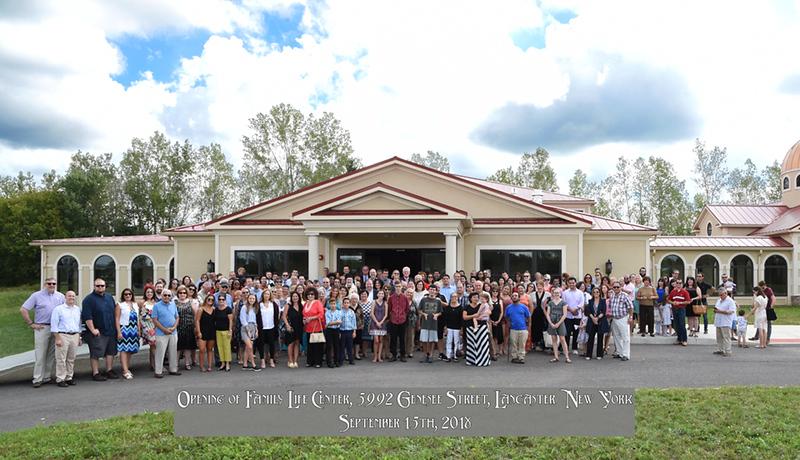 Family Life Center Opening