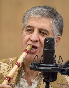 Mohammad Nejad plays the ney flute