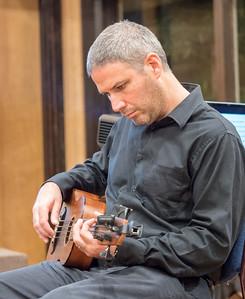 Amr Toppozada plays bass