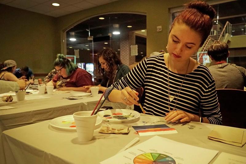 Sarah Bragdon with Art and Activism
