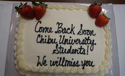 Farewell reception