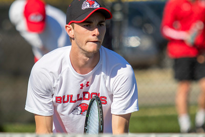GWU Men's Tennis vs. Appalachian State University Feb 2018
