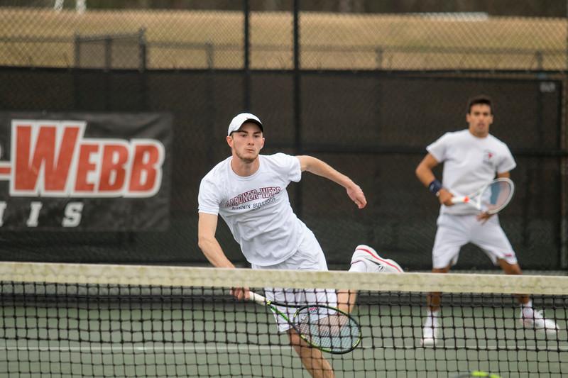 GWU Men's Tennis vs USC Upstate Feb 2018