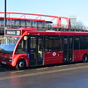 CT Plus Optare Solo YJ12GVY OS26 at Canning Town interchange on the 309 to Bethnal Green, 17.02.2018.