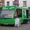 """Macmillan Cancer Support mobile support bus Optare Solo YJ10EZU """"Bertie"""" in High Wycombe, 05.02.2018."""