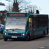 Arriva ex Milton Keynes Optare Solo YJ57XWH 2495 in Aylesbury on the 9 to Stoke Mandeville Hospital, 05.02.2018.