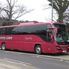 Country Lion Volvo Plaxton Panther L1ONC at Northampton station, 21.02.2018.