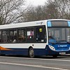 Stagecoach ADL Enviro 200 KX60LHT 36211 in Northampton on the 96 from Rugby, 21.02.2018.
