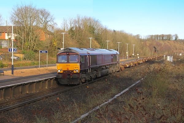 66743 Micheldever 01/02/18 6O45 Bicester to Marchwood