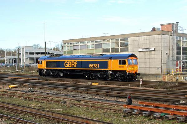 66781 Basingstoke 02/02/18 0Y63 Eastleigh to Hoo Junction