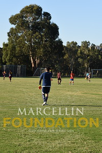 Marcellin Soccer Practice Match First XI vs Old Scotch