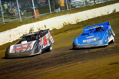 Brandon Overton (76) and Kyle Bronson (40B)