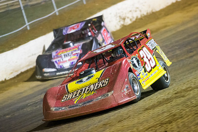Tim McCreadie (39) and Doug Drown (12)