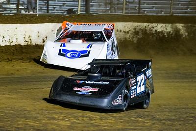 Gregg Satterlee (22) and Jonathan Davenport (49)