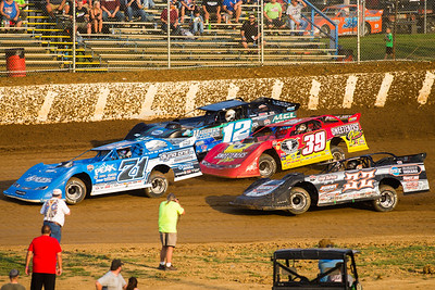 Hudson O'Neal (71), Chad Stapleton (32), Tim McCreadie (39) and Jason Jameson (12)