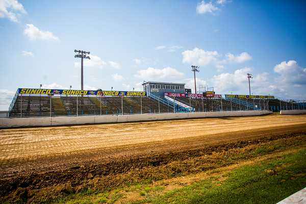 Florence Speedway frontstretch