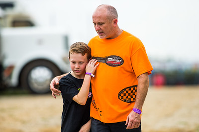 Jimmy Owens and son Nathan