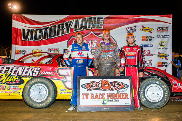 Nick Hoffman (L), Tim McCreadie (C) and Bobby Pierce (R)