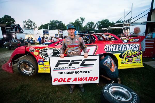 PFC Brakes Pole Award winner Tim McCreadie