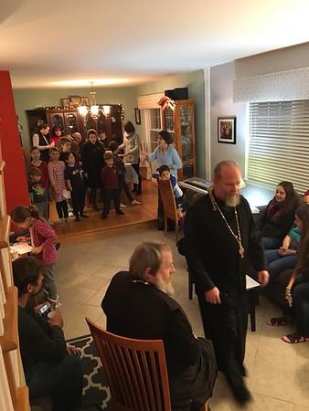 Fr. Gregory's Namesday Celebration