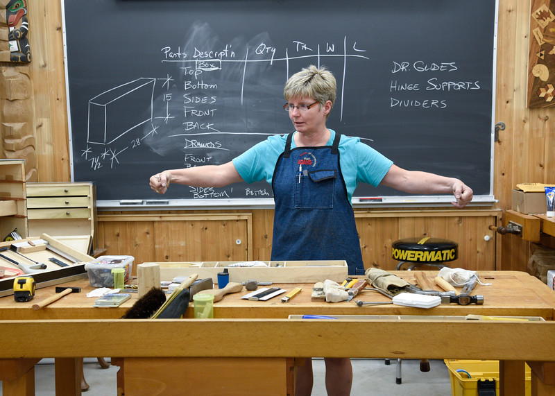 Fundamentals of Woodworking with Mich Williams