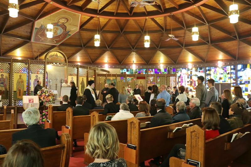 Funeral - Presbytera Claire Photini Raphael
