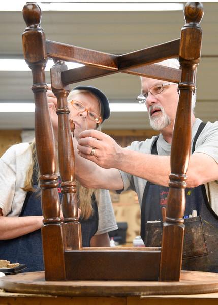 Furniture Restoration, Repair & Refinishing with Mitch Kohanek