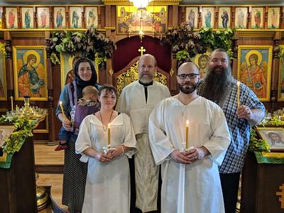 Gabriel and Alexandra Baptism
