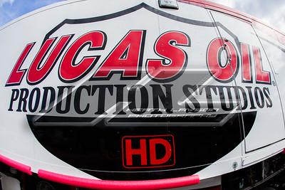 Lucas Oil Production Stufios truck