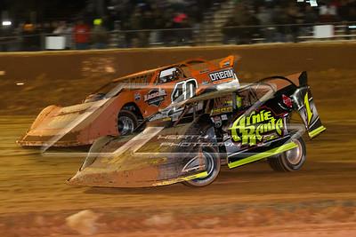 Brent Larson (B1) and Kyle Bronson (40B)