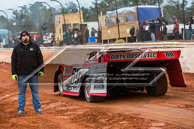 Lucas Oil Late Model Dirt Series official Matt Delaney
