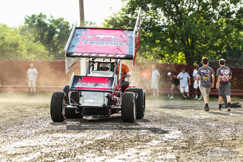 PA Sprint Car Speedweek - Grandview Speedway - 5T Tyler Reeser
