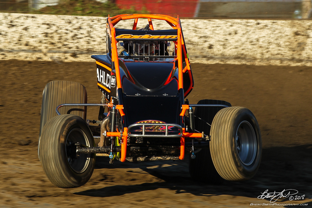 Jesse Hockett Classic - USAC AMSOIL National Sprint Car Championship - Grandview Speedway - 3x Ryan Godown