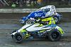 Jesse Hockett Classic - USAC AMSOIL National Sprint Car Championship - Grandview Speedway - 18 Jarett Andretti, 99 Brady Bacon