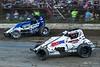 Jesse Hockett Classic - USAC AMSOIL National Sprint Car Championship - Grandview Speedway - 98 Chad Boespflug, 20 Thomas Meseraull