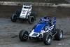 Jesse Hockett Classic - USAC AMSOIL National Sprint Car Championship - Grandview Speedway - 20 Thomas Meseraull, 98 Chad Boespflug