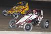 Jesse Hockett Classic - USAC AMSOIL National Sprint Car Championship - Grandview Speedway - 5D Zach Daum, 33M Matt Westfall