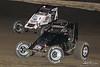 Jesse Hockett Classic - USAC AMSOIL National Sprint Car Championship - Grandview Speedway - 50 Tony DiMattia, 12 Robert Ballou