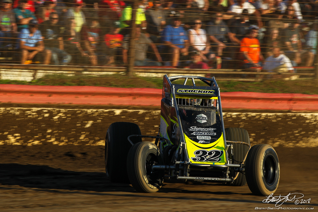 Jesse Hockett Classic - USAC AMSOIL National Sprint Car Championship - Grandview Speedway - 32 Chase Stockon